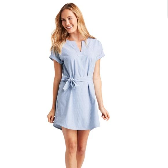 Vineyard Vines Dresses & Skirts - VINEYARD VINES UPF Striped Harbor Tunic Dress-M&L